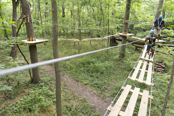 Koteewi Aerial Adventure Park and Treetop Trails; Noblesville, IN